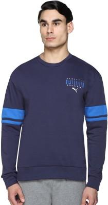 Puma Full Sleeve Striped Men Sweatshirt