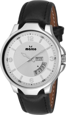 Marco MR-GR3035-WHT-BLK  Analog Watch For Men