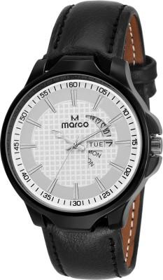 Marco MR-GR3027-WHT-BLK  Analog Watch For Men