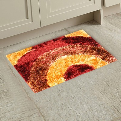 M G'S REAL DECOR Polyester Door Mat SSDDD(Multicolor, Free)  available at flipkart for Rs.330