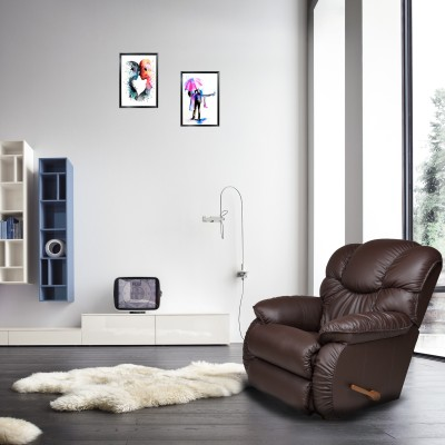 @home by Nilkamal Fabric Powered Recliners(Finish Color - Honey Beige)