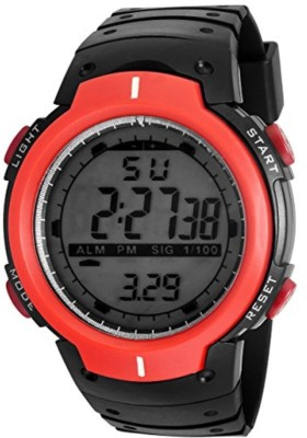 Skmei AD115RED ANADIG Watch  - For Men