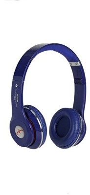 i-Birds High Quality Extra Bass On-Ear Headphones For Smartphones Wired Headset with Mic(Blue, On the Ear)
