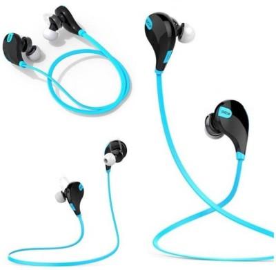 GS Jogger-QY7-C9 Headphone(Blue, On the Ear) 1