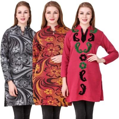 KRITIKA WORLD Festive & Party Embroidered Women