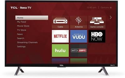 TCL 109.2cm (43 inch) Full HD LED Smart TV(43S4)