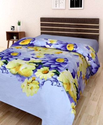 IWS 144 TC Microfiber Single 3D Printed bedsheet(1 bedsheet, Multicolor)  available at flipkart for Rs.179