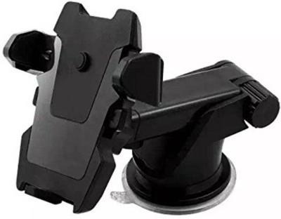 Junaldo Car Mobile Holder for Dashboard, Windshield Black