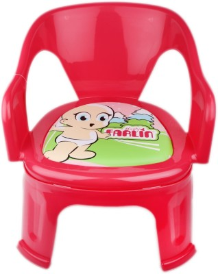 Farlin Plastic Chair(Finish Color - Pink)