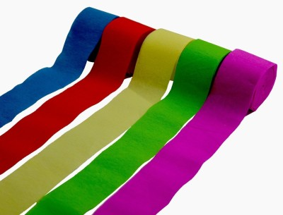 PartyballoonsHK Streamer(Multicolor, Pack of 5)