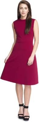 Addyvero Women A-line Pink Dress