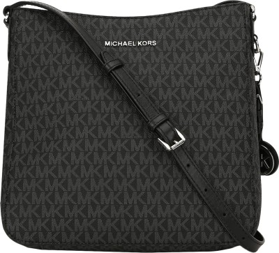 Michael Kors Women Black Messenger Bag(Imported) at flipkart