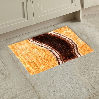 M G'S REAL DECOR Polyester Door Mat ASSSD(Multicolor, Free)  available at flipkart for Rs.310