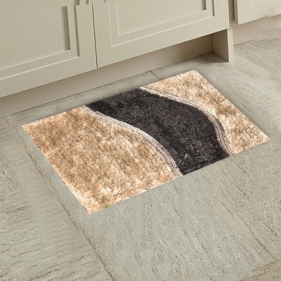 M G'S REAL DECOR Polyester Door Mat WSSS(Multicolor, Free)  available at flipkart for Rs.320
