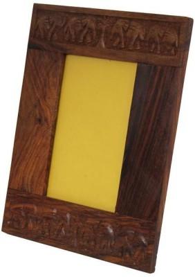 Craft Art India Wood Photo Frame(Brown, 1 Photos)