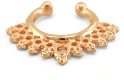 Fabfashion Rose Gold Plated Alloy Nose Ring  available at flipkart for Rs.120