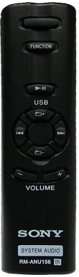 LipiWorld RM-ANU156 Compatible For  Home Theater System Sony Remote Controller(Black)