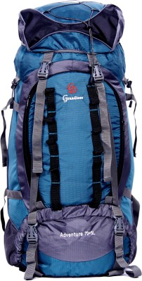 c4e08ac454ea 42% OFF on GRANDIOSE 75L Front Open Model Teal Blue Hiking Backpack    Rucksack (GTB67502TB) Rucksack - 75 L(Blue) on Flipkart