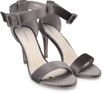 Chemistry Women Grey Heels