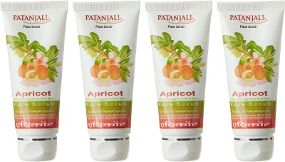 Patanjali Aloe Vera Apricot Scrub (60GM, Pack of 4)