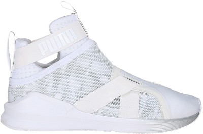 Puma Fierce Strap Swan Wn s Training & Gym Shoes For Women(White)