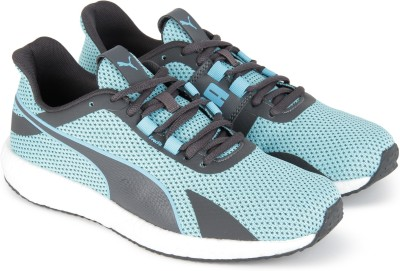 Puma Mega NRGY Turbo Wn's Running Shoes For Women(Blue, Grey) at flipkart