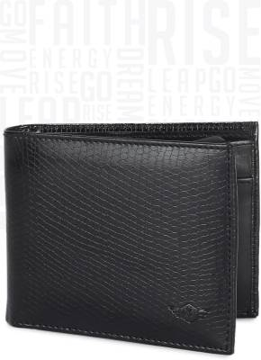 Metronaut Men Black Artificial Leather Wallet