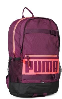 Puma Deck 24 L Laptop Backpack(Purple 435084b0b983a