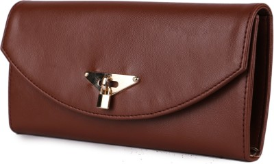 classic fashions Women Casual Brown  Clutch at flipkart