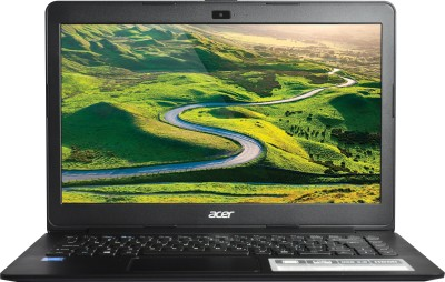 Acer Pentium Quad Core - (4 GB/500 GB HDD/DOS) One 14 Notebook(14 inch, Black, 1.8 kg)