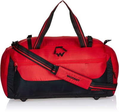 Wildcraft Commuter 1 Red (Expandable) Travel Duffel Bag(Red)
