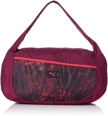0d78ab5bcc9e 37% OFF on Puma Studio Barrel Bag Gym Bag(Purple) on Flipkart ...