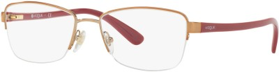 Vogue Half Rim Cat-eyed Frame(52 mm) at flipkart