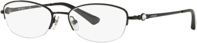 Vogue Half Rim Oval Frame(49 mm)