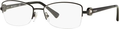 Vogue Half Rim Cat-eyed Frame(52 mm)