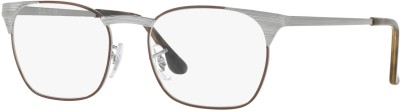 Ray-Ban Full Rim Square Frame(51 mm) at flipkart
