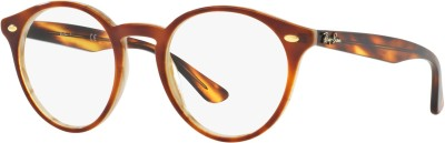 Ray-Ban Full Rim Round Frame(47 mm) at flipkart
