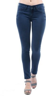 Pepe Jeans Slim Women Dark Blue Jeans at flipkart