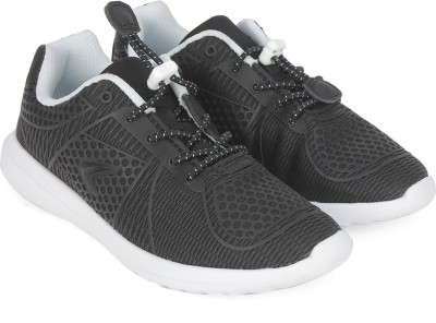 Clarks Boys Lace Running Shoes(Black)
