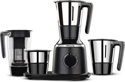 Butterfly Spetra Spectra Black 750 W Juicer Mixer Grinder(Black, 4 Jars)