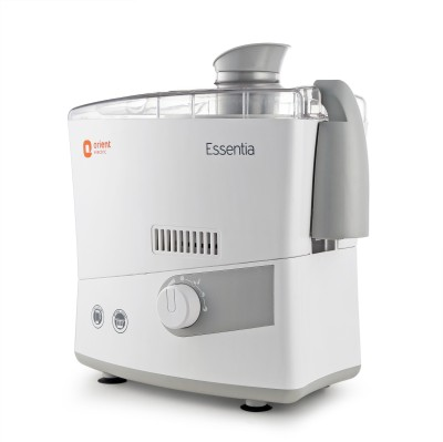 Orient Electric Essentia JMES50G3 500 W Juicer Mixer Grinder(White and Grey, 2 Jars)
