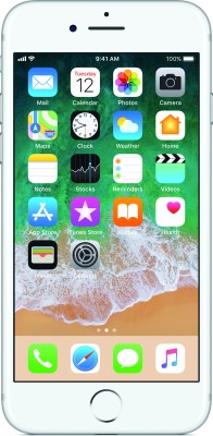 Apple iPhone 7 (Silver, 128 GB)  Mobile (Apple)