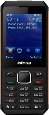 InFocus F210 Hero Smart P3(Black & Orange)