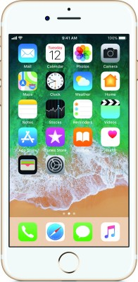 Apple iPhone 7 (Gold, 32 GB) at flipkart