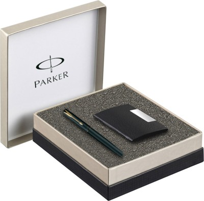Parker Frontier GT Roller Ball Pen with Card Holder