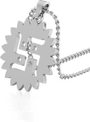 IskiUski Dagne Diamond Pendant Gold-plated Swarovski Zirconia Sterling Silver Pendant