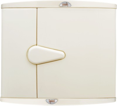 Wintex Icon Single Door Cabinet Plastic Wall Shelf(Number of Shelves - 1, Beige)