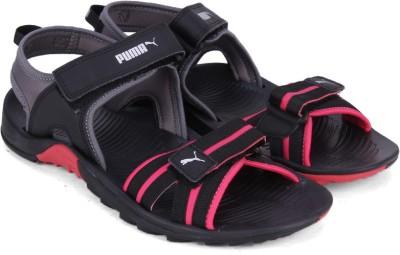 Puma Women Love Potion-Puma Black-Quite Shade Sports Sandals