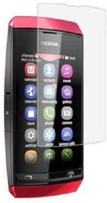 CHAMBU Tempered Glass Guard for NOKIA ASHA 305(Pack of 2)