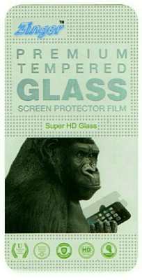 ZINGER Tempered Glass Guard for MICROMAX CANVAS ENTICE A105(Pack of 1)